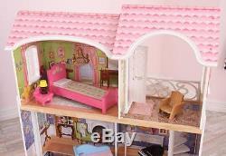 KidKraft Puppenhaus Magnolia Puppenstube Barbiehaus Dollhouse 65839