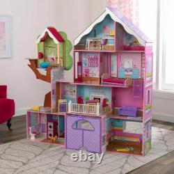 KidKraft Treehouse Retreat Mansion With 26 Pieces (3+ Years)