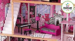 Kidkraft Amelia Dollhouse, Wooden House with Lift fits Barbie sized Dolls
