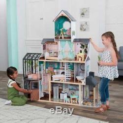 Kidkraft Celeste Mansion Dollhouse with EZ Kraft Assembly Includes Accessories