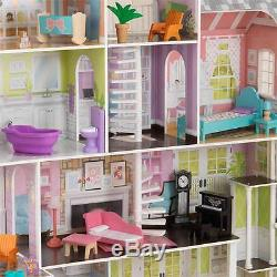 barbie doll house furniture. Kidkraft Grand Estate Wooden Girls Dolls House Furniture Fits Barbie Dollhouse Doll F