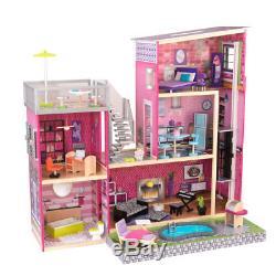 Kidkraft Puppenhaus Dollhouse Uptown holz 65833