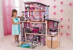 Kidkraft Puppenhaus Glitzer Puppen-Villa holz Sparkle Dollhouse 65826
