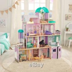 Kidkraft Rosewood Mansion Large Wooden Dollhouse Girls Kids Play Dolls House