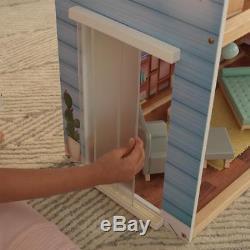 Kidkraft Zoey Large Wooden Dollhouse Girls Kids Play Dolls House New