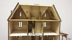 Kristiana Tudor Dollhouse 124 scale Dollhouse Kit