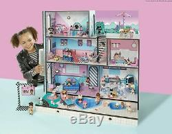 LOL Surprise Doll House Wooden Multi Story Playset 85+ Surprises With New Family