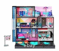 LOL Surprise OMG House-Real Wood Doll House with Surprises