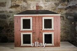 Large English 19th Century Antique Dolls House