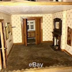 Large Substantial Vintage Edwardian Gothic Model Dolls House