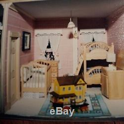 Large lot of dollhouse miniatures lot 1/12 scale, furniture for every room