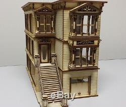 Lisa Painted Lady San Francisco 148 scale Dollhouse