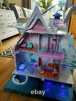 Lol suprise winter disco chalet, doll house