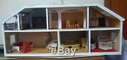 Lundby Of Sweden Dollhouse With Accessories