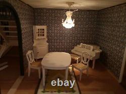 Lundby Stockholm Dolls House with Furniture vintage dolls house
