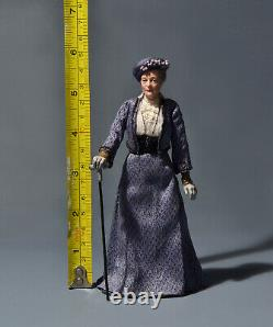 Maggie Smith as Lady Crawley, Miniature 112, OOAK, Art Sculpture by AMSTRAM