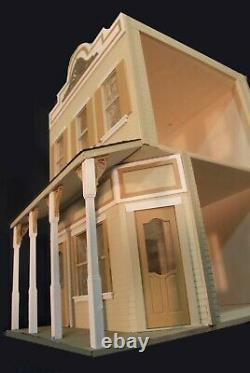 Market Place 1 Inch Scale Dollhouse Kit Laser Cut