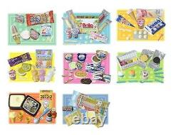 Megahouse miniatures White Bear Ice Cream, #1-8,16 Barbie re-ment kitchen foods