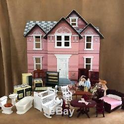 Melissa Doug Lot Furniture Classic Heirloom Victorian Wooden