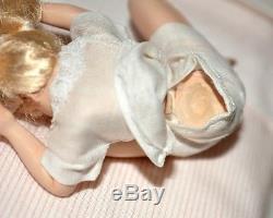 Miniature Doll Girl Dollhouse 112 Artist Susan Scogin Pillow Fight Set of 3 Bed