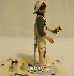 Miniature Doll Porcelain Boy Dollhouse 112 Artist Connie Sauve