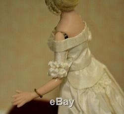 Miniature Doll Porcelain Lady Dollhouse 112 Wedding Bride Artist Doreen Sinnett