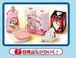 Miniature Sanrio Hello Kitty Re-Ment Supermarket Full Set of 8 pcs RARE
