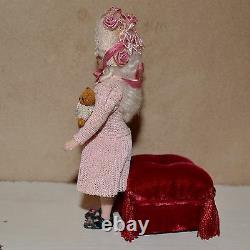 Miniature porcelain doll girl 112 dollhouse