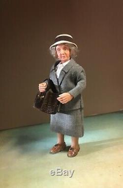 Miss Marple 112 OOAK miniature doll dollhouse ALMA Artistry