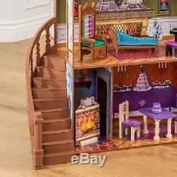 NEW Big Disney FROZEN ARENDELLE Princess Furnished Castle House Dollhouse PALACE