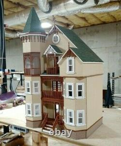 New! House on the Hill Dollhouse Kit 112 Scale