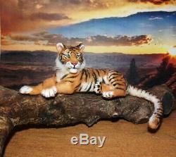 OOAK 112 Realistic TIGER handsculpted handmade dollhouse miniature wild cat