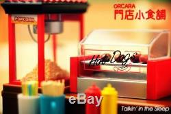 ORCARA miniature food shop complete 8 sets
