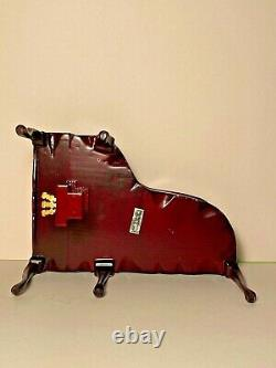 Ornate handpainted grand piano DH Miniatures made by Bespaq 112 scale