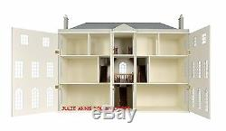 PRESTON MANOR DOLLS HOUSE WOODEN, 12th SCALE NEW FROM JULIE ANNS
