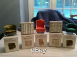 Petite Princess Dollhouse Furniture by Ideal Vintage 26+ pcs in orig bx + family