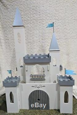 Pottery Barn Kids Wood Ice Castle Dollhouse with Box Princess