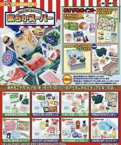 RARE Re-ment Petit Sample Supermarket Full Set of 8 Dollhouse Miniatures