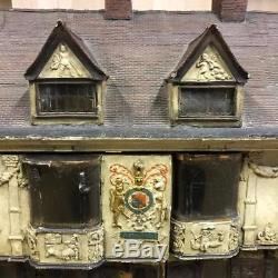 RARE Wooden Dolls House Sparrow House Ipswich Tibbenham 1930