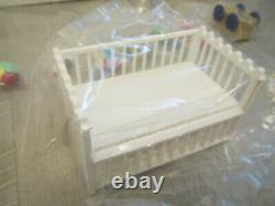 RE-MENT Full Set BABY ROOM STROLLER BATH TOY FOOD 1/6 SCALE MINIATURE BARBIE SZ