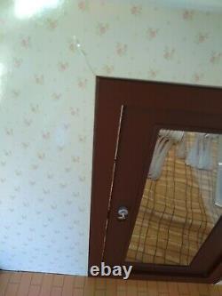 RE-MENT PUCHI ROOM HOUSE BUILDING SUPER RARE! USED See Description