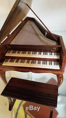 Ralph E. Partelow LSH-1 Harpsichord 1 of 2 doll house size piano