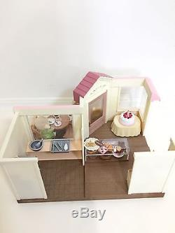 Rare 2006 Japan Sylvanian Families (Calico Critters)Cake Shop withBox