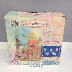 Rare JP Sylvanian Families (Calico Critters US) Misty Forest F-07 Mushroom House