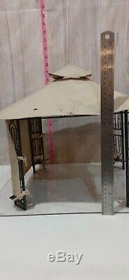 Rare Miniature Gazebo Pergola Salesman Sample Barbie Doll House Dollhouse