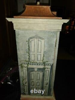 Rare Signed Eric Lansdown Dollhouse #15 Cabinet 112 Scale, One Of A Kind Big