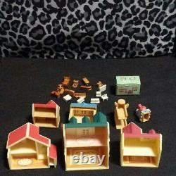 Rare Sylvanian Families miniature house & furniture set shop miniature