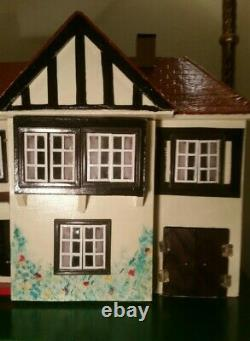 Rare Triang Lines Bros Dolls House No 62e @1957 Restored & New Electric Included