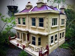 Rare Victorian Double Pile Antique Dolls House
