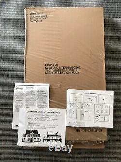 Rare Vintage Greenleaf THE Charleston Wooden Dollhouse Kit Open box 112 scale